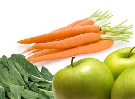 Плодове и зеленчуци за бели зъбки