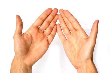 Какво говорят пръстите на ръцете за вашия характер