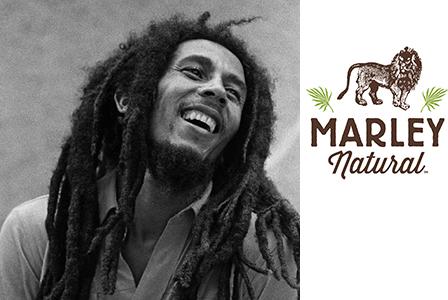 Името на Боб Марли продава марихуана