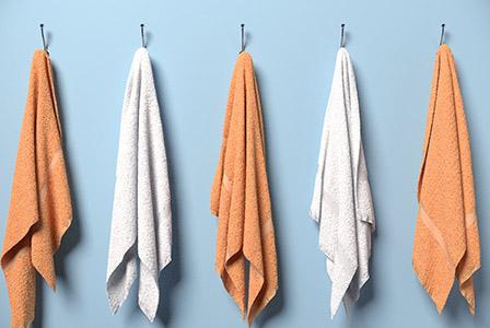 Хавлиените кърпи трябва да се перат на всеки три ползвания