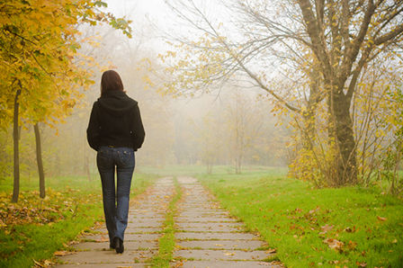 Ходенето подобрява настроението