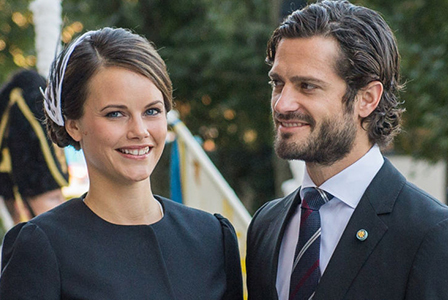 Принцеса София роди второ дете на шведския принц Карл Филип