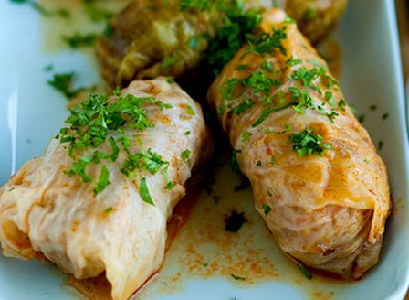 Зелеви сарми с кълцано месо