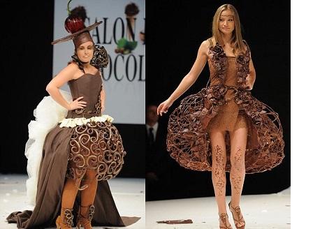 Шоколадова модна феерия в Париж