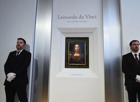 Спасителят на света - рекорд за най-скъпа картина
