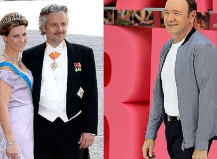 Бившият съпруг на норвежка принцеса се оплака от Кевин Спейси