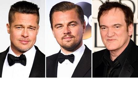 Леонардо ди Каприо и Брад Пит ще си партнират за първи път във филм