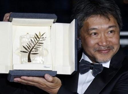 Японец получи наградата Златна палма на кинофестивала в Кан