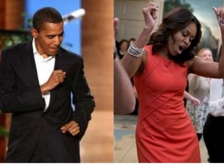 Барак и Мишел Обама на концерт на Бионсе и Джей Зи