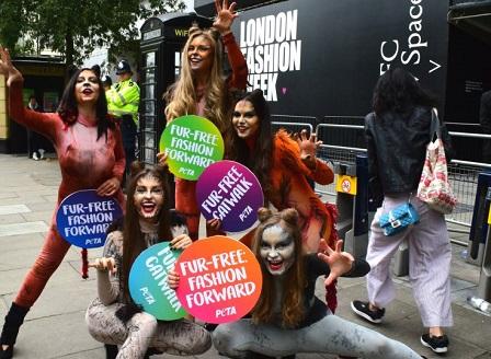 Седмицата на модата в Лондон обърна гръб на кожата