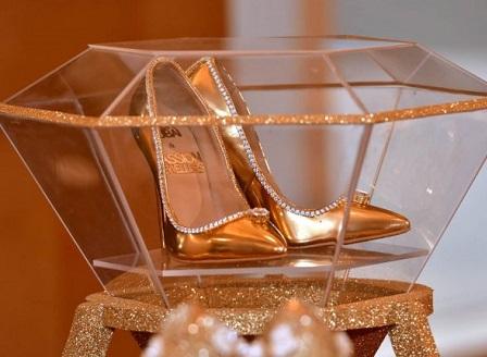 В Дубай бяха представени най-скъпите дамски обувки