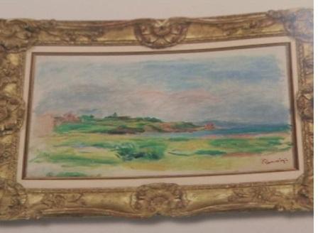 Откраднаха картина на Реноар във Виена