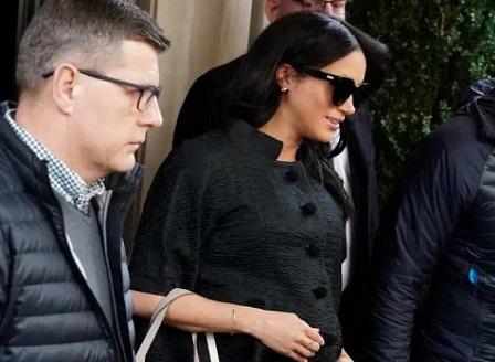 Меган Маркъл отиде тайно в Ню Йорк за парти преди раждането на бебето