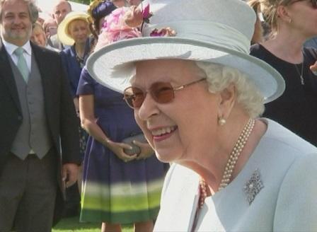 Чаено парти с кралица Елизабет Втора