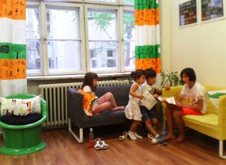 Започва лятната занималня в Детския център на Столична библиотека
