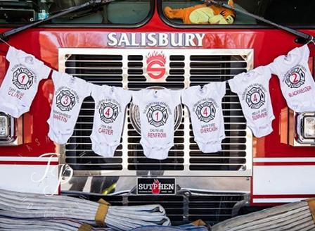 7 жени на пожарникари родиха едновременно