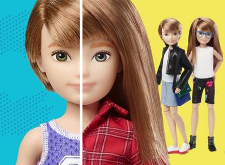 Създателите на Барби пускат първата безполова кукла на пазара