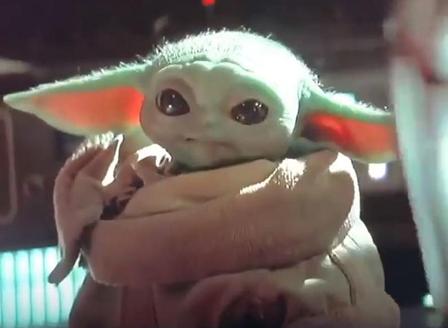 Бебе Йода - хит в интернет