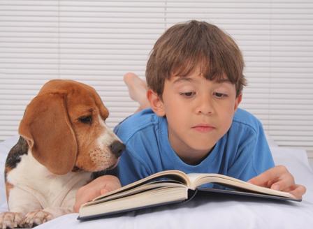 Децата четат повече в компанията на куче