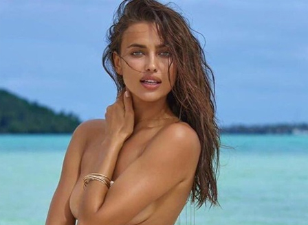 Ирина Шейк се е снимала в рекламен клип за списание