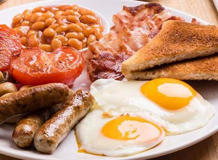 Английската закуска може да е ключът към сваляне на излишните килограми