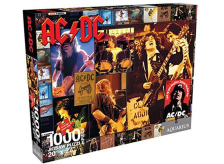 AC/DC пускат пъзели с кориците на на албумите си
