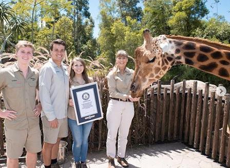 Австралийски жираф беше обявен за най-високия в света