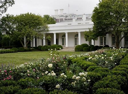 Mелания Tръмп обнови розовата градина на Белия дом