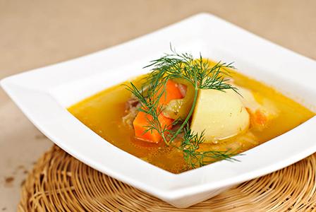 Експресна супа с консервирана риба тон