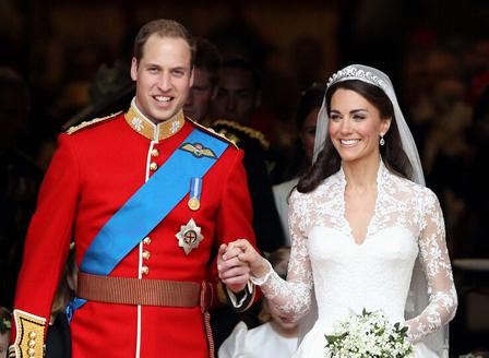 Принц Уилям и Кейт отбелязват 10 години от сватбата си
