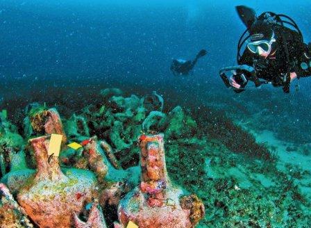 Единственият подводен музей в Гърция вече приема посетители