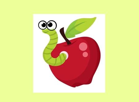 Не подценявайте червивите ябълки