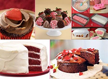 Колекция изкусителни десерти за Свети Валентин